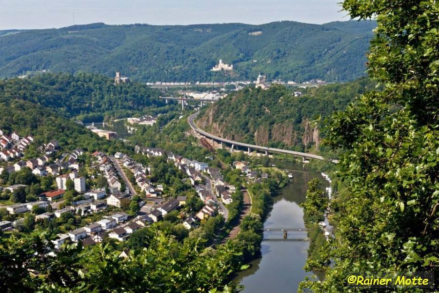 Lahnwanderweg Etappe 19: Bad Ems – Niederlahnstein