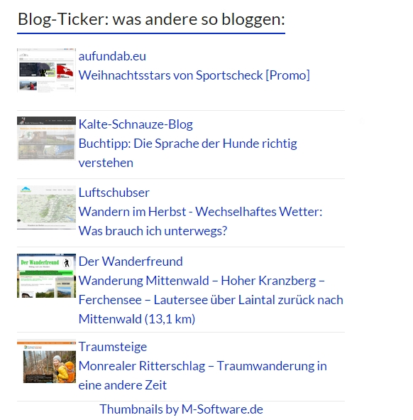 Blogticker