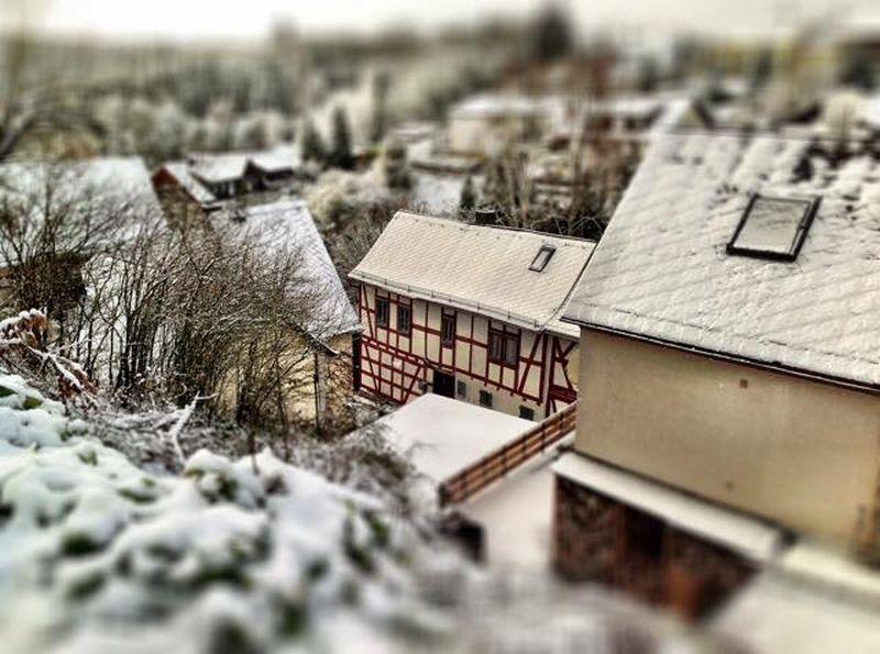 Runkel - Hofen im Winter