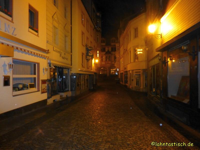 Bei Nacht durch die Altstadt