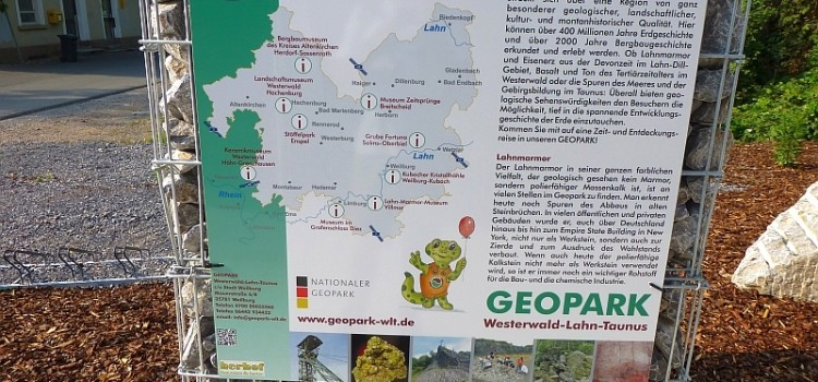 Wo Marmor, Stein und Eisen spricht – Veranstaltungen des Geoparks Westerwald-Lahn-Taunus