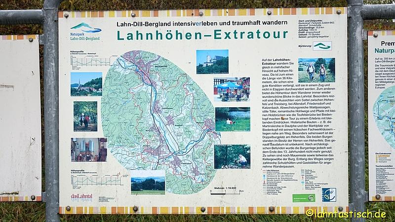 Die Lahnhöhen-Extratour! Beschreibung am Wanderportal