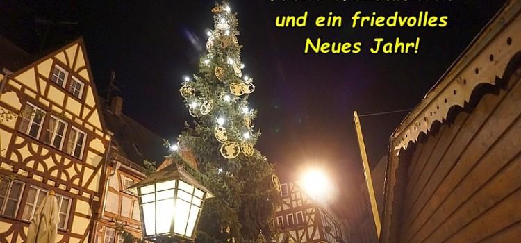 Lahntastische Weihnachten und einen guten Rutsch!