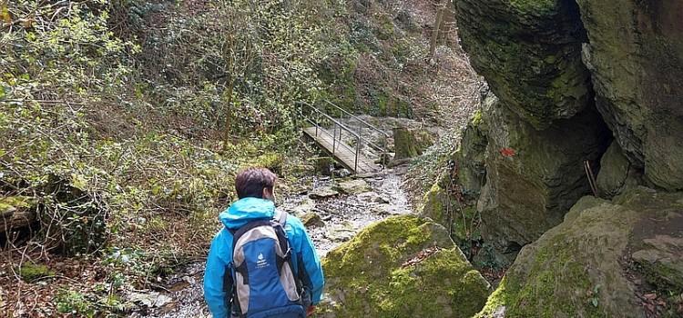 Wildromantisch – die Ruppertsklamm bei Lahnstein